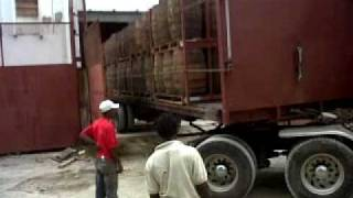 Download Backing Up A Tractor Trailer Into A Warehouse Video