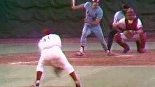 Download Dave Concepcion fields ball off Tom Seaver's glove Video