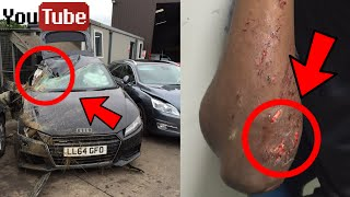 Download 5 Youtubers Who CRASHED Their Cars / Were In Car Accidents - ComedyShortsGamer, Coby Persin Video