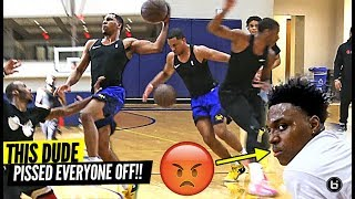 Download PRO BASKETBALL PLAYER DESTROYS PRIVATE D1 HIGH SCHOOL PICK UP GAME! *THEY WERE PISSED!* Video