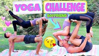 Download Boyfriend Vs. Girlfriend Yoga Challenge Video