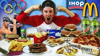Download THE ULTIMATE OLYMPIC DIET CHALLENGE (15,000+ CALORIES) Video