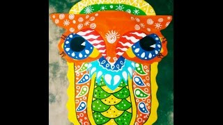 Download (speed Painting)Designing pohela Boishakhi Mask Video