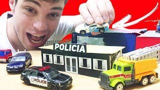 Download COMO FAZER A POLICIA HOT WHEELS - Mini Cidade Video