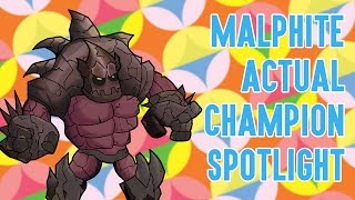 Download Malphite ACTUAL Champion Spotlight Video