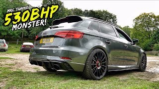 Download THIS MRC TUNED *STAGE 2 530BHP* AUDI RS3 IS A MONSTER! PLUS WIN WITH BOTB Video