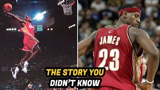 Download The Story You Didn't Know About LeBron James' First NBA Game Video