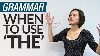 Download Grammar: 8 rules for using 'THE' in English Video