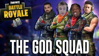 Download Squads with Ninja, Drake, Travis Scott and JuJu!! - Fortnite Battle Royale Gameplay Video