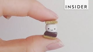 Download Artist Makes The Tiniest Creations Video