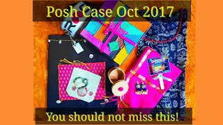 Download Posh Case Oct 2017   Discount Code  Miss Matched Edition   Unboxing and Review Video