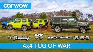 Download Mercedes-AMG G63 vs Suzuki Jimny - TUG OF WAR Video