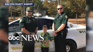 Download Boy Calls 911 to Invite Cops to Thanksgiving Dinner Video