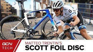 Download Matteo Trentin's Custom Scott Foil RC Disc European Champion's Bike Video
