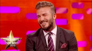 Download David Beckham Laughs At His Embarrassing Haircuts - The Graham Norton Show Video