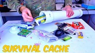 Download PVC Survival Time Capsule - Survival Hack Video