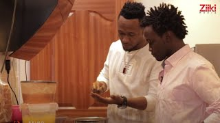Download Bahati and Dj Mo Cook for their Wives- Double Date (BEING BAHATI Ep14) Video