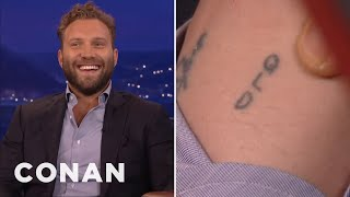 Download Jai Courtney Lost A Tattoo Bet With Margot Robbie - CONAN on TBS Video