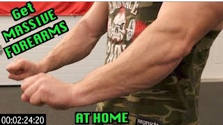 Download Intense 5 Minute At Home Forearm Workout Video