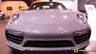 Download 2017 Porsche 911 Turbo S - Exterior and Interior Walkaround - 2017 Toronto Auto Show Video