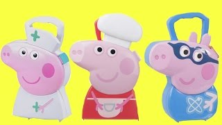 Download Three Peppa Carrying Cases George & Baking Cooking Chef Video