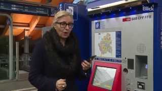 Download So funktioniert der neue SBB-Ticketautomat Video