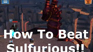 Download How to Beat Sulfurious - Dungeon Boss (IOS/Android Game) Video
