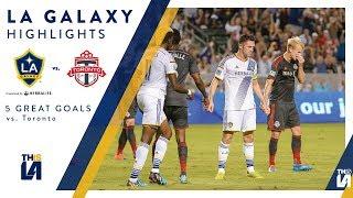 Download Five Great Goals: LA Galaxy vs. Toronto FC Video