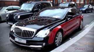 Download TWO Xenatec Coupes - Black/Red and White (Maybach 57S) Video