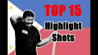 Download Efren Bata Reyes 2018!!! Top 15 Amazing and Highlight Shots Video