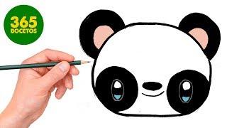 Download COMO DIBUJAR PANDA KAWAII PASO A PASO - Dibujos kawaii faciles - How to draw a PANDA Video