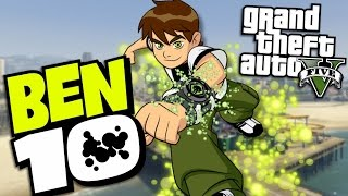 Download GTA 5 Mods - BEN 10 ″BEN TENNYSON″ MOD (GTA 5 Mods Gameplay) Video