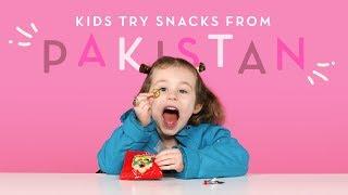 Download Kids Try Pakistani Snacks | Kids Try | HiHo Kids Video