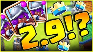 Download I LOVE THIS NEW DECK!! • Clash Royale Cheap 3 MUSKETEER DECK! Video