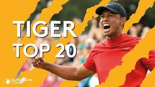 Download Tiger Woods' Best Shots on European Tour Video