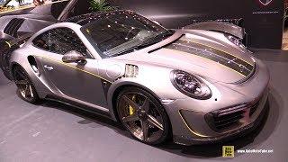 Download 2018 Porsche 911 Turbo S Stinger by Topcar - Exterior Walkaround - 2018 Geneva Motor Show Video
