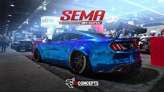 Download SEMA 2015 | Hot Cars/Best of SEMA Cruise/Best of SEMA Ignited | R1 Concepts Video