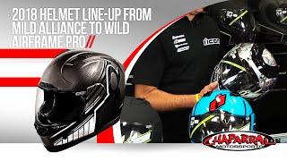 Download Icon Motorsports 2018 Helmet Line-up from Mild Alliance to Wild Airframe Pro Video