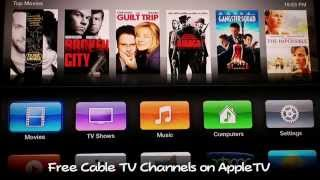 Download How to Watch Live HDTV Channels Free on Apple TV - NO MORE CABLE BILL!!! Video