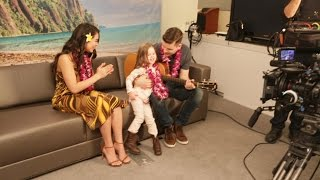 Download BEHIND THE SCENES - Claire Sings ″How Far I'll Go″ with Auli'i Cravalho, the Voice of Moana!! Video
