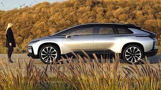 Download Faraday Future FF 91 2017 World Premiere CES Faraday Future FF 91 Electric Self Driving Car CARJAM Video