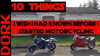 Download Ten Things I Wish I'd Known Before I Started Motorcycling Video