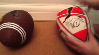 Download The difference between rugby and American football Video