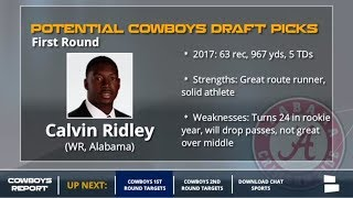 Download 10 Offensive Players The Dallas Cowboys Could Draft In The 1st And 2nd Rounds Of The 2018 NFL Draft Video