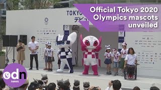 Download Official mascots for the Tokyo 2020 Olympics unveiled Video