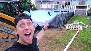 Download BUILDING HUGE FOAM PIT/POOL!! Video