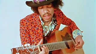 Download Jimi Hendrix On An Acoustic Guitar(Only known 2 videos RARE) Video