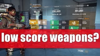 Download The Division 1.8.1 - HOW TO GET WEAPONS WITH LOW GEAR SCORE Video