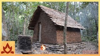 Download Primitive Technology: Tiled Roof Hut Video