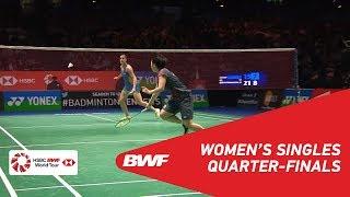 Download WS | Carolina MARIN (ESP) [5] vs Akane YAMAGUCHI (JPN) [2] | BWF 2018 Video